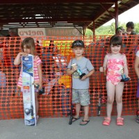 5 & under  1 Angelina Hoover, 2 John Hansen, 3 Oliva Stortz , smallest f...