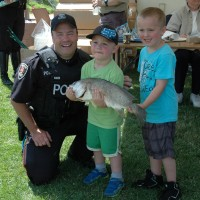 Cops and Kids Fishing 2014 130